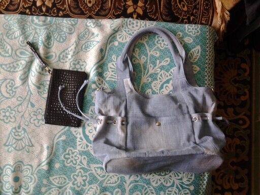 Women Denim Shoulder Bag New Fashion Jeans High Quality Travel Crossbody Bag Large Tote Handbag Mochila Bolsa B725 photo review
