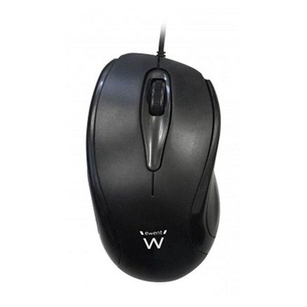 Optical Mouse Ewent EW3152 1000 DPI Black