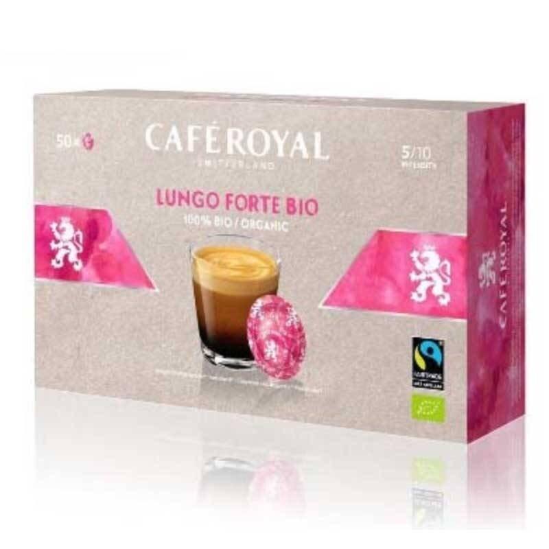 Lungo Forte Bio Cafe Royal®For NESPRESSO PRO®50 capsules