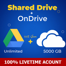 Account Unlimited-Storage Shared-Drive Gooogle And