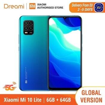 Global Version Xiaomi Mi 10 Lite 6GB RAM 64GB ROM 5G (Brand New and Sealed) mi10lite, 10lite, 64, smartphones