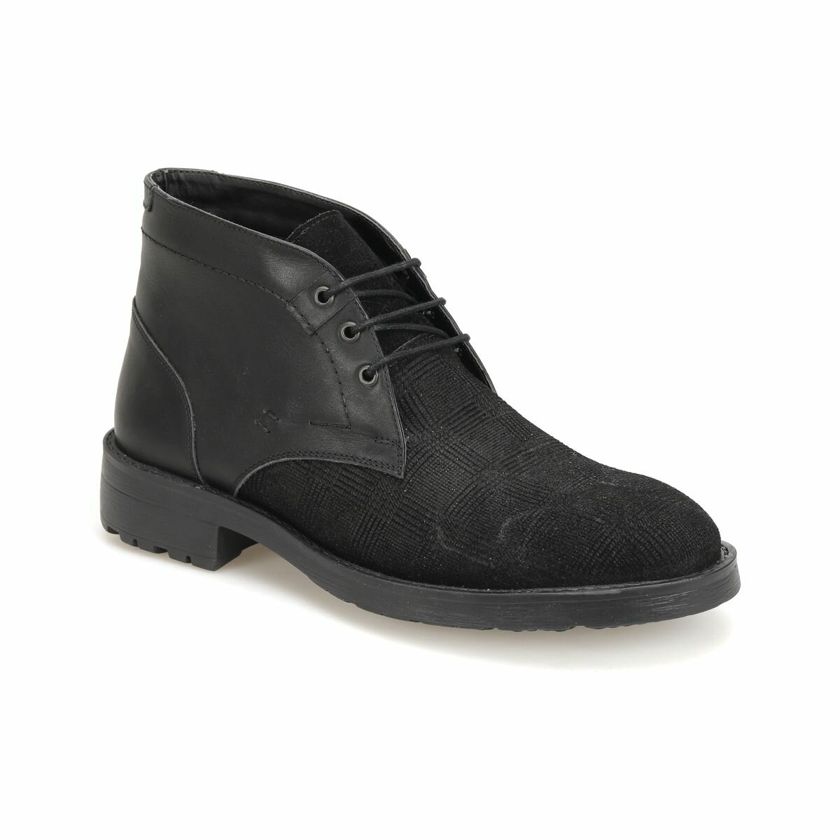FLO CNR-73 Black Men Boots Garamond