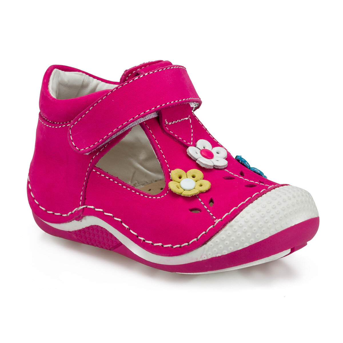 FLO 512235.I Fuchsia Female Child Sneaker Shoes Polaris