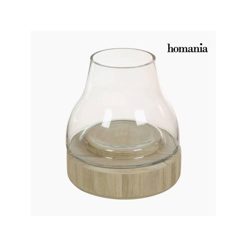 Bois de verre bougeoir-Collection cristal pur déco par Homania