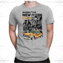Papayana Нью Йорк Такси Для мужчин Веселая футболка с надписью