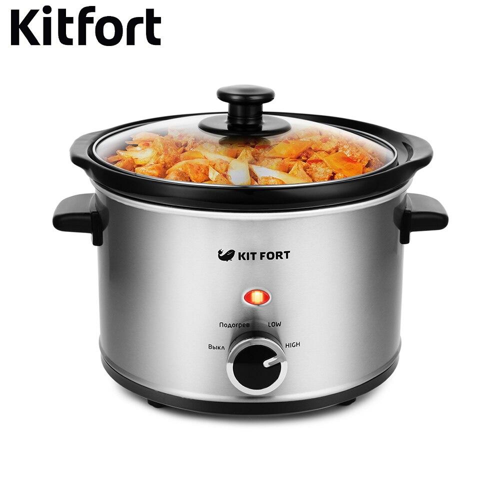 купить Slow cooker Kitfort KT-206 kitchen appliances cooking недорого