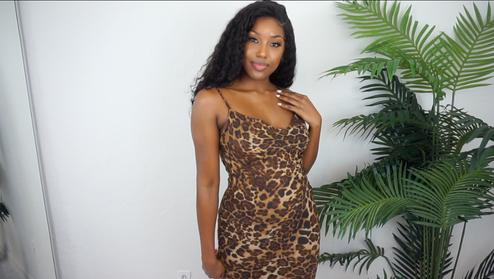 Leopard Print Sexy Maxi Bodycon Dress Women Summer Chiffon Beach Sundress Elegant Vintage Female Club Long Party Dress photo review