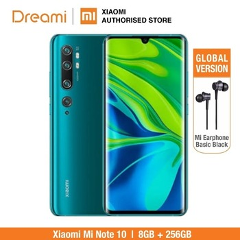 Global Version Xiaomi Mi Note 10 Pro 256GB ROM 8GB RAM (Brand New and Official Rom), note10256