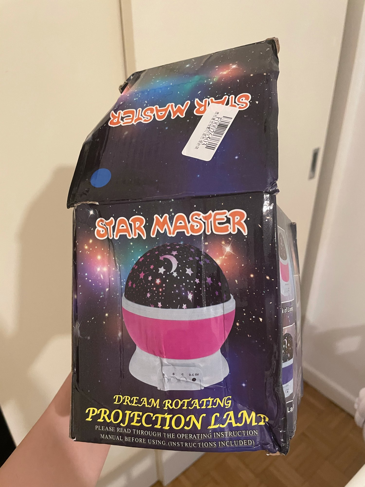 Galaxy Projector photo review