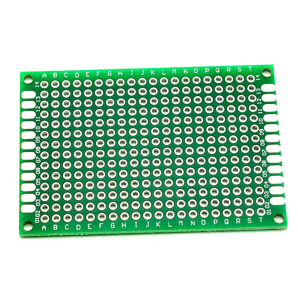 Taidacent 10Pc Double Sided Circuit Board 8x12cm Fr4 Printed Circuit Board Universal Experiment Board Soldering Electronic Board