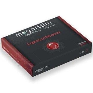 Mogorttini intense Espresso, compatible with professional Nespresso 50 capsules.