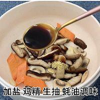 耗油菌菇西蓝花的做法图解4