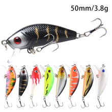 Fishing Lures Wobbler Bait Floating Wobblers Hard Bait Isca Artificial 5cm/3.8g Lake Minnow Bass Fishing Sea Bass Fishing Lures noeby 1 pcs 16 14cm 60 32g minnow bait fishing lures with vmc hooks minnow bass fishing lures artificial bait hunt house