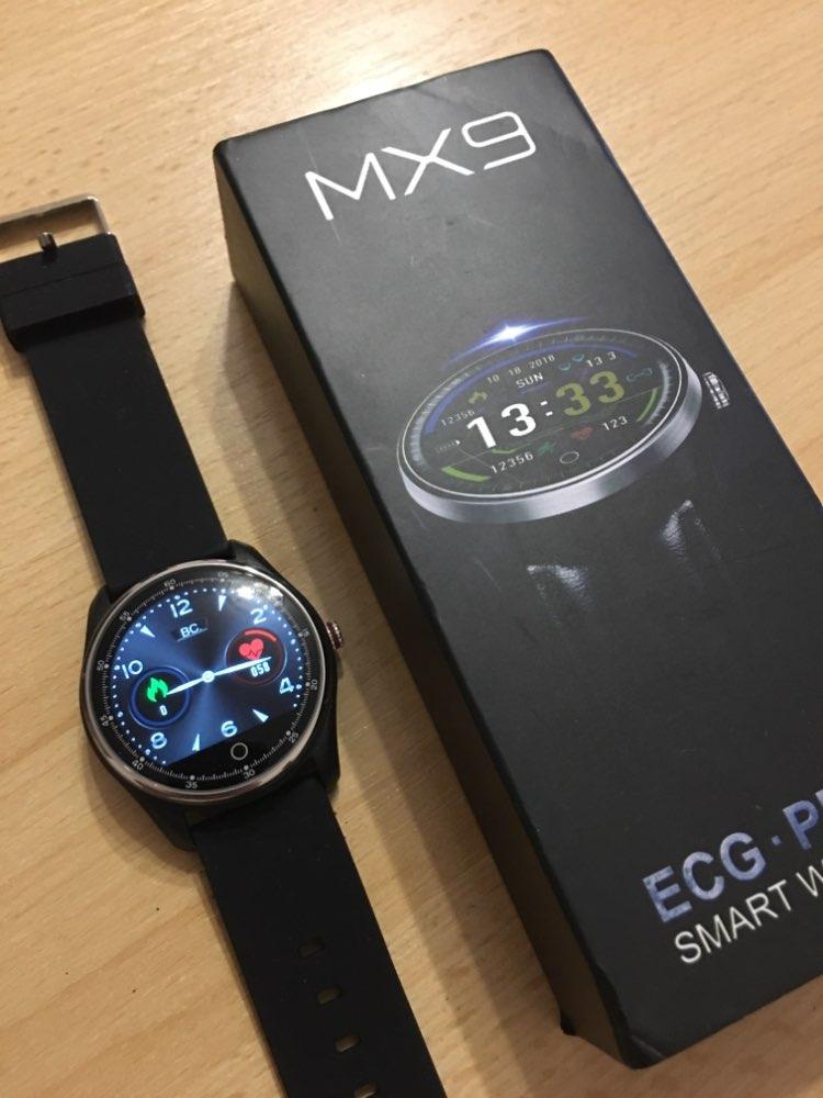 MAFAM MX9 ECG Smart Watch Blood Pressure PPG Heart Rate Blood Pressure Monitor Multi languages Smartwatch Clock For Men Women|Smart Watches| |  - AliExpress