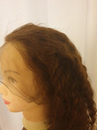 Apliques com cabelo humano Rendas Frente Humano