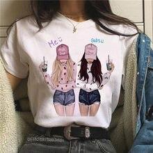 Camiseta informal de verano para mujer y chica, camisetas Hipster de los años 90, camiseta de manga corta Harajuku, envío directo