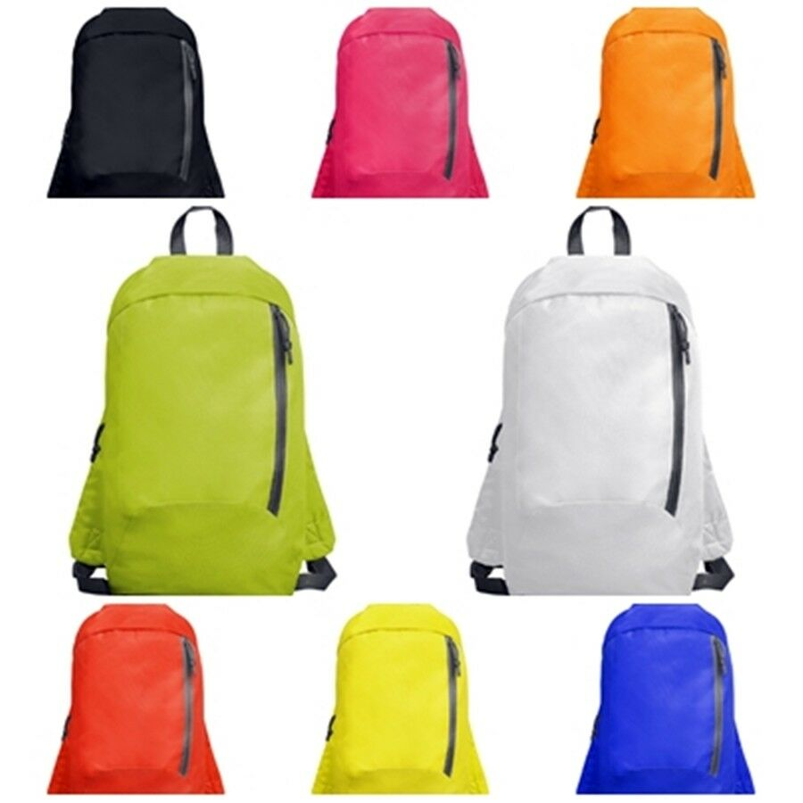Backpack Bag Sports Multipurpose. With Front Pocket With Zipper. Sison