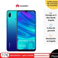 Huawei P di Smart 2019 Smartphone(64GB ROM 3GB di RAM Google, Android, Nuevo, Libre)[Teléfono Móvil Versión Española]Movil,Moviles