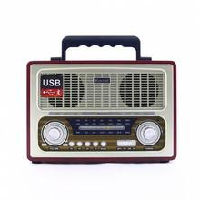 Kemai MD-1800BT Retro Nostalgia Radio Bluetooth FM USB SD Gr
