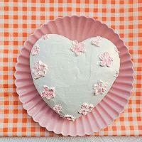 """#美食说出""""新年好""""#爱心彩绘酸奶蛋糕的做法图解11"""