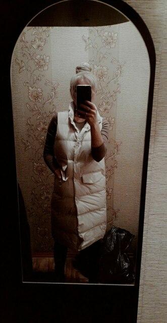 Autumn Winter Cotton Vest Women Ladies Casual Waistcoat Female Sleeveless Long Vest Jacket Slim Fit Warm Simple Coat