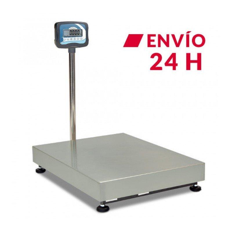 Bacula цифровой промышленный de suelo de 150 кг, мод. (150 кг x 20 г) (45x35 см) с батареей interna recargable, несколько funciones
