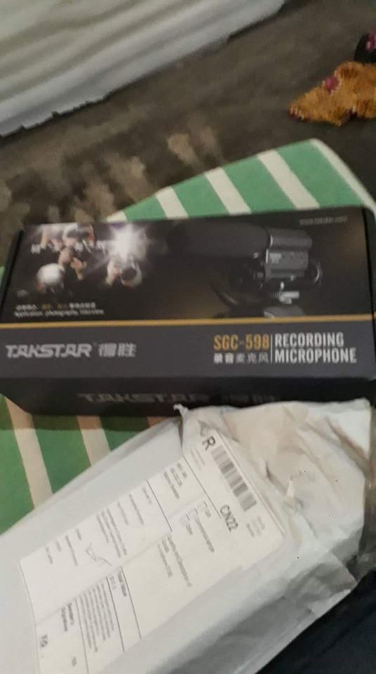 Microfones microfone camcorder vloggers