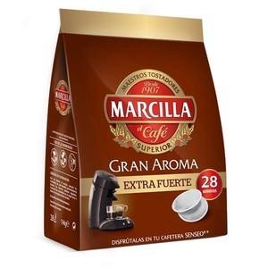 EXTRA Strong Marilla coffee, 28 SENSEO monodose