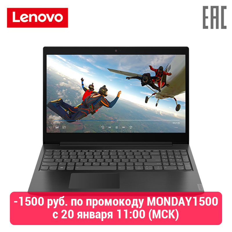 "Laptop Lenovo IdeaPad L340-15API 15.6 ""FHD/Ryzen 3 3200U/4 GB/500 GB/noODD/ WiFi/BT/Win10/Granite Black [81LW005BRU]"