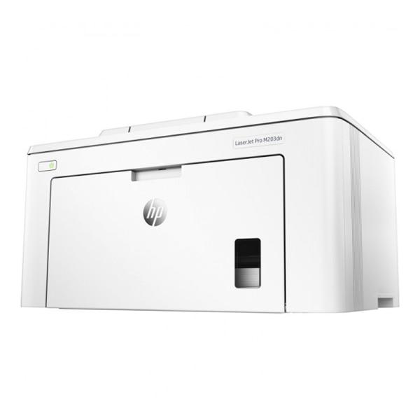 Bilgisayar ve Ofis'ten Yazıcılar'de Tek renkli lazer yazıcı HP LaserJet Pro M203dn 256 MB beyaz title=