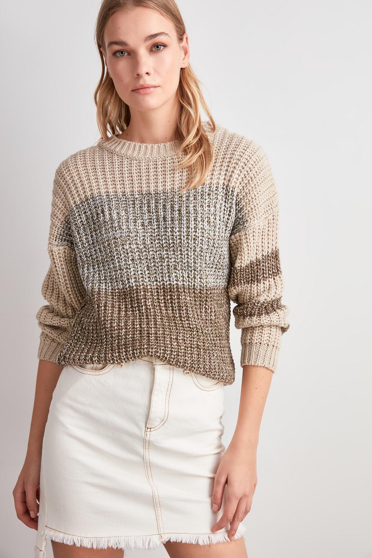 Trendyol Leaf Sweater Sweater TWOAW20KZ1528