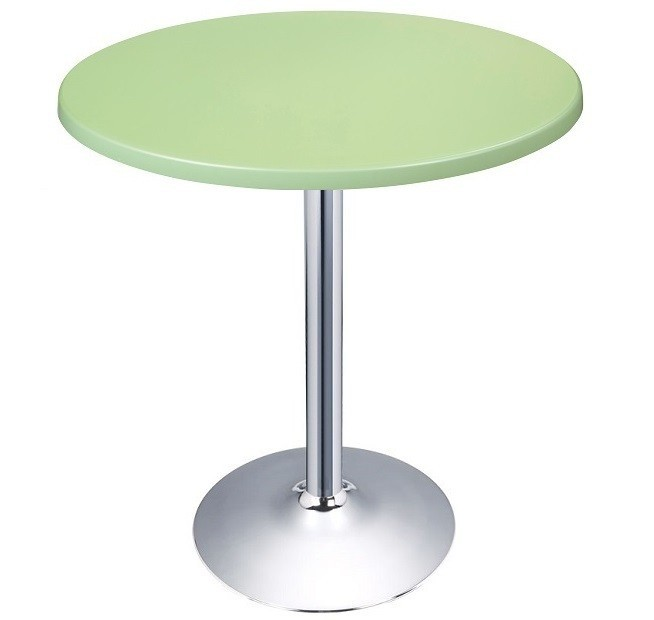 Table CRISS, Chrome Topalit-Green-405, 70 Cms *