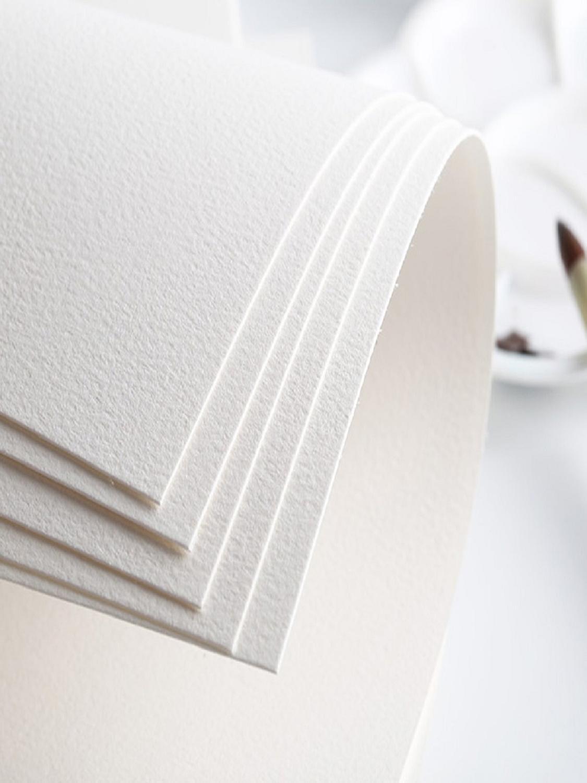 Акварельная бумага, BAOHONG, Комплект 10 листов, хлопок 100%, 300 гр/м.кв.