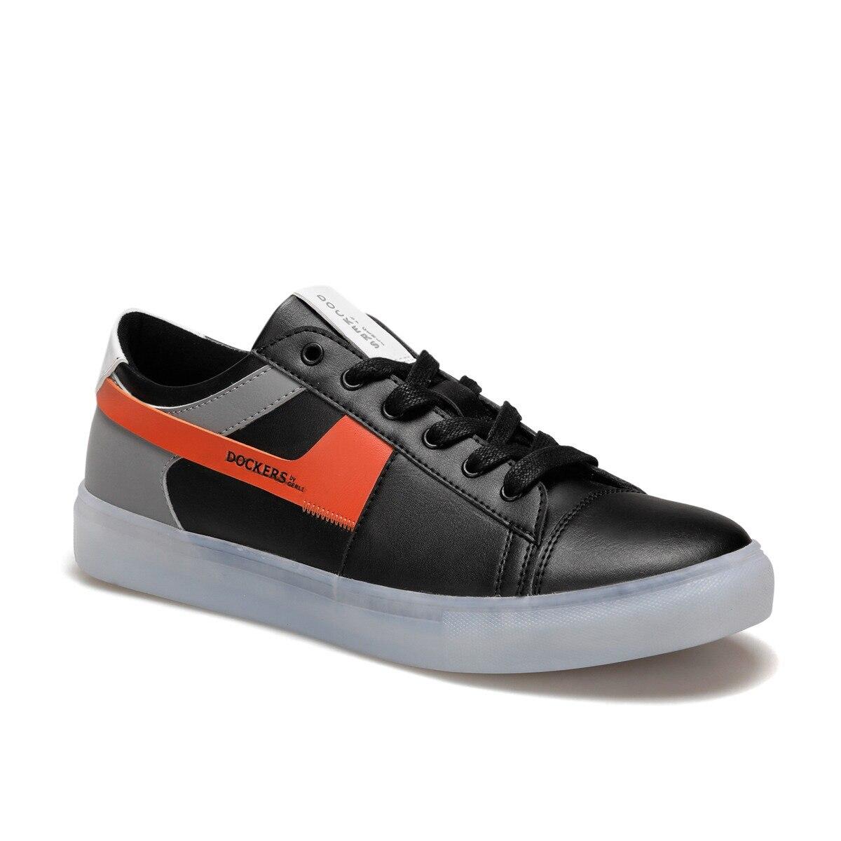 FLO 228095 Black Male Sneaker By Dockers The Gerle