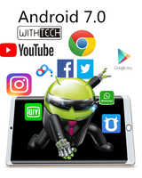 Tablet 10,1 polegadas withtech Pad-3G, cristal duplo, núcleo octa, 4 gb ram 32