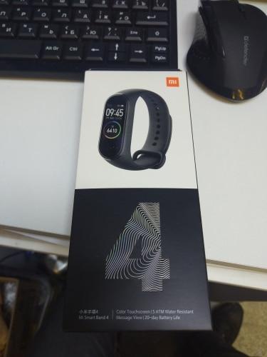 Fitness bracelet Xiaomi Mi Band 4 waterproof touch AMOLED screen Android, iOS sleep monitoring, calories, fiz. Activity|Smart Wristbands|   - AliExpress