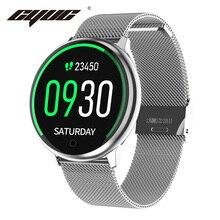 CYUC R7 Donne di Smart Watch Impermeabile IP67 Orologi Musica Misuratore di Pressione Sanguigna Monitor di Ossigeno di Sport Uomini Smartwatch per Android Ios Phone
