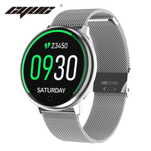 Cyuc R7 女性 smart watch 防水 IP67 腕時計音楽血圧酸素モニタースポーツスマートウォッチ男性アンドロイド ios 電話