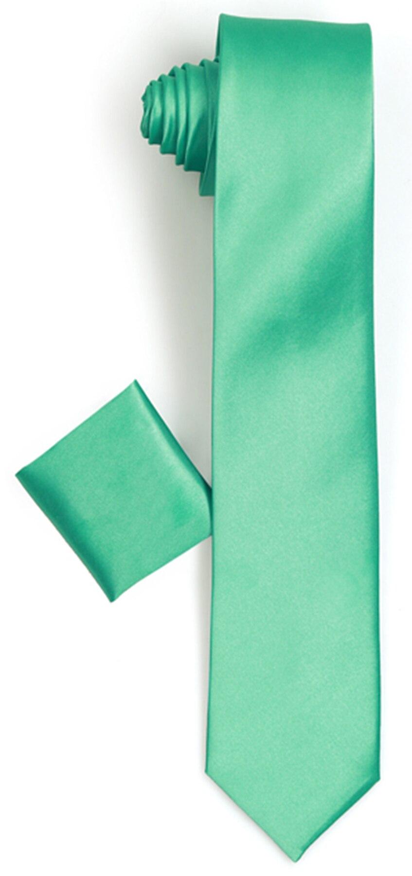 Varetta-Narrow Cut Green Tie