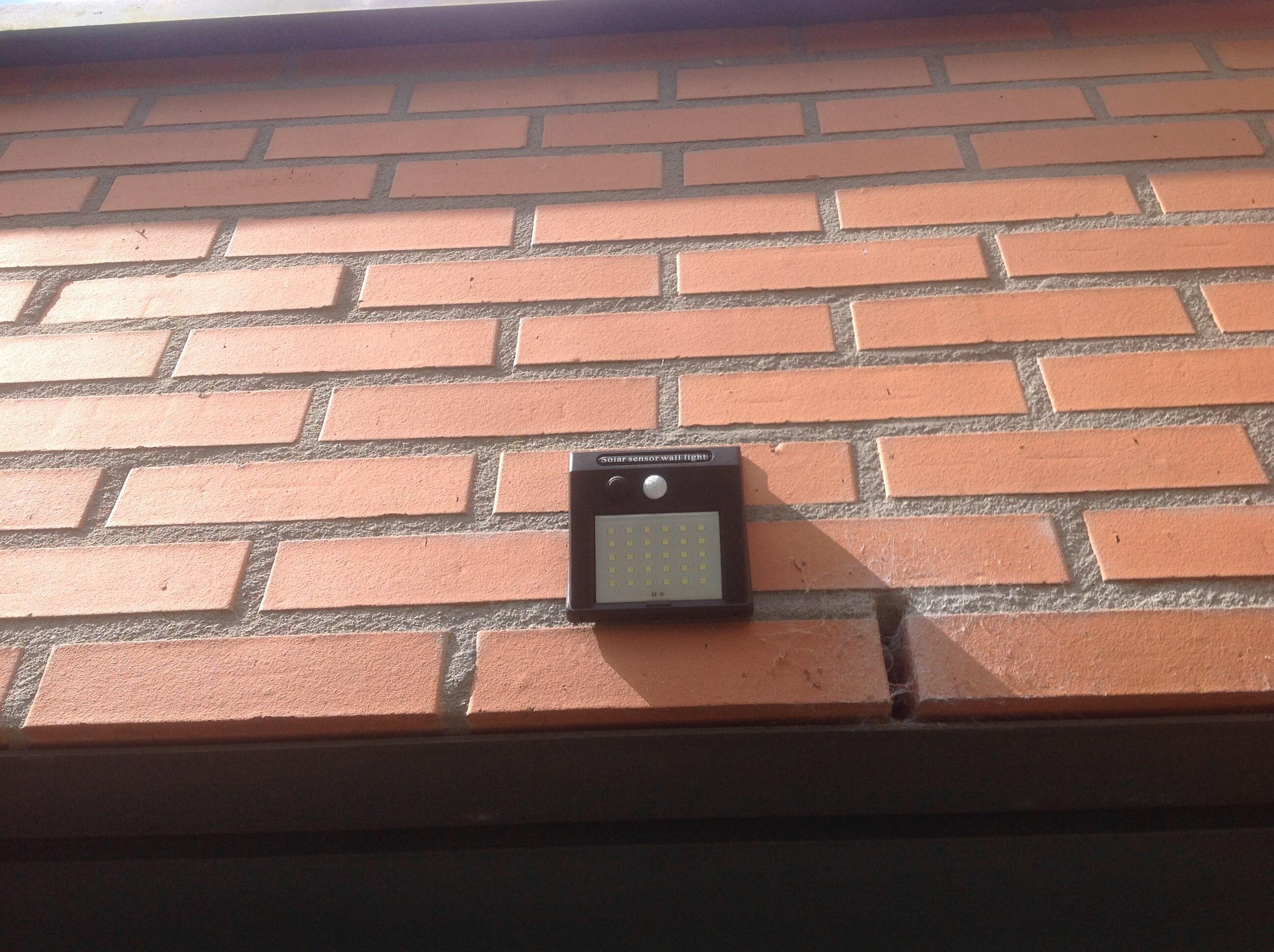 1-4pcs PIR Motion Sensor 30 LED Solar Light Outdoor Solar Powered LED Garden Light Waterproof Emergency Wall Lamp With Cable ene