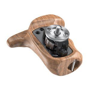 Image 3 - SmallRig Left Side Wooden Handgrip with Arri Rosette Bolt On Mount For Universal DSLR Camera Wooden Handle 1891