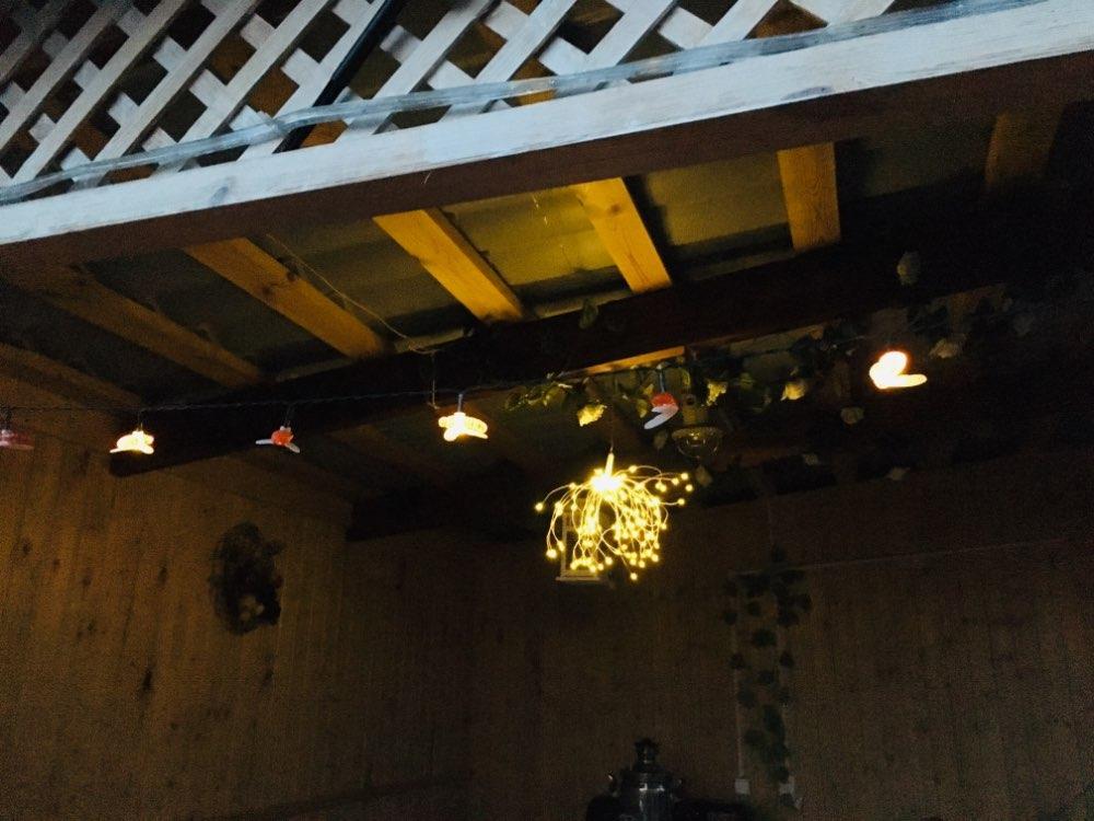 Lâmpadas solares Abelha Guirlanda Guirlanda