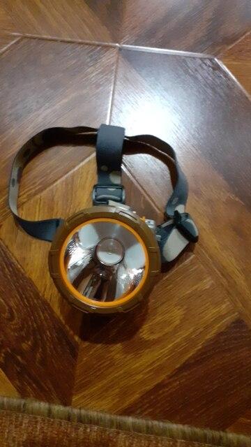 Faróis de LED Potência Frontal Acampamento