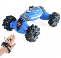 Radio controlled machine overturn control of hand gestures double sided