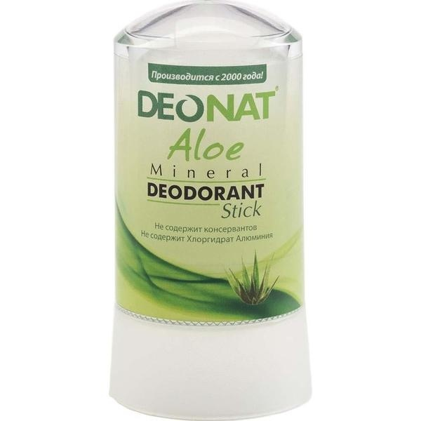 Deonat Deodorant Crystal With Natural Aloe And Glycerin Extract, 60g