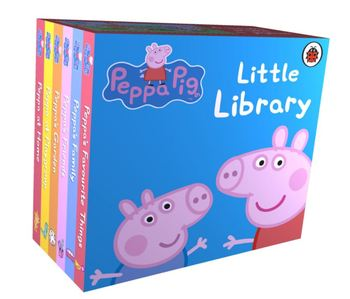Peppa Pig : Little Library Book Children's English Birthday Gift Peppa Pig Fairy Tale Book Cartoon Material Early Education happy birthday peppa