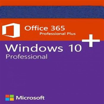 Set License Microsoft Key Activation MS Windows 10 Pro + MS Office 365 License Windows 10 Pro License Office 365