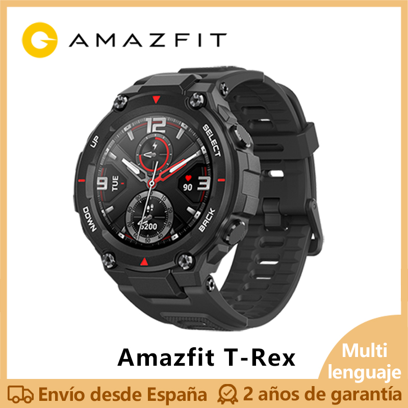 Lanzamiento exclusivo Huami Amazfit T REX Smart watch(bluetooth GPS deporte exterior impermeable android IOS)[Versión Global] on AliExpress