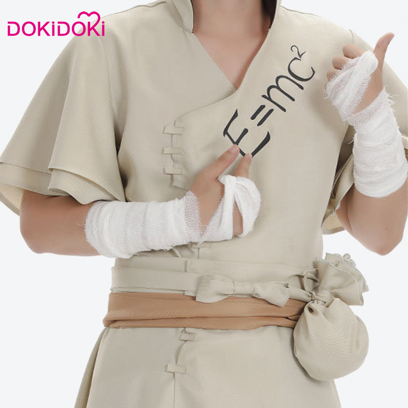 DokiDoki Anime Cosplay Dr STONE Ishigami Senku Costume Men Anime Cosplay Costume Dr STONE Ishigami Senku in Anime Costumes from Novelty Special Use