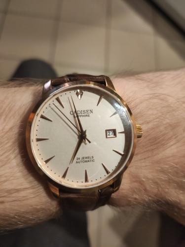 -- Cadisen Masculino Relógios